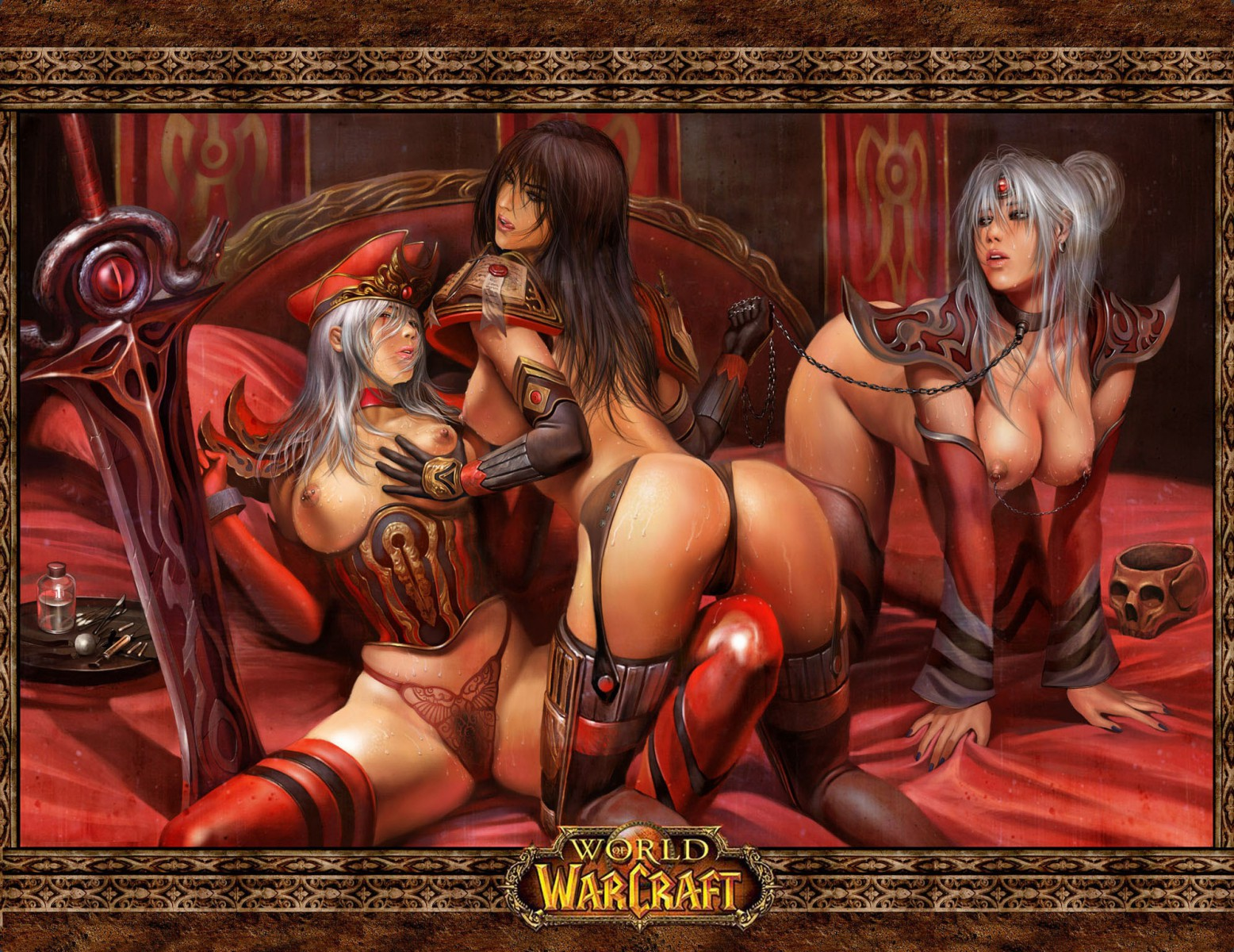 Cartoon world of warcraft lesbian sex sexy videos